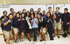 Launa 'Ike Educates the Juniors of KS