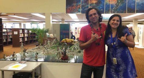 Native Hawaiian Artist Displays His Work On Campus