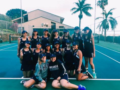 End Of JV Tennis Season