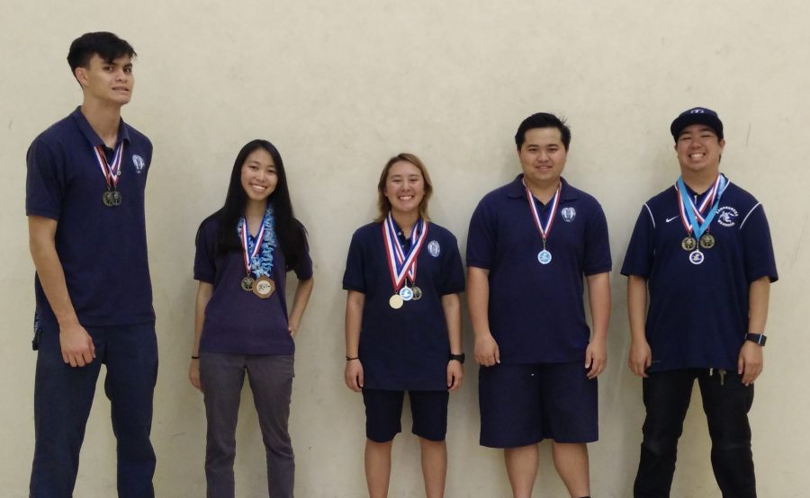 The KS rifle team recently completed a successful season.