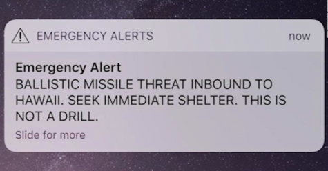 Two months after false ballistic missile warning