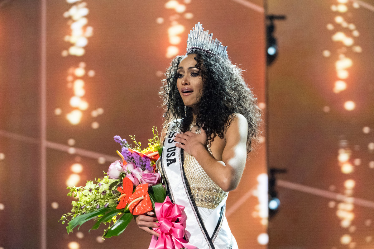 Kara McCullough from the District of Columbia was crowned Miss USA 2017.
