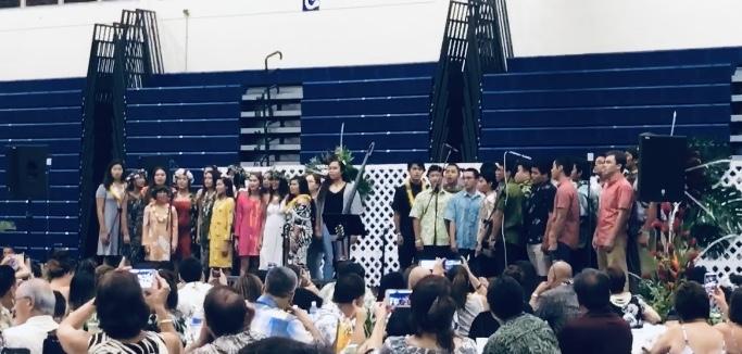 Kamehameha Schools Gain Support with Senior Luau