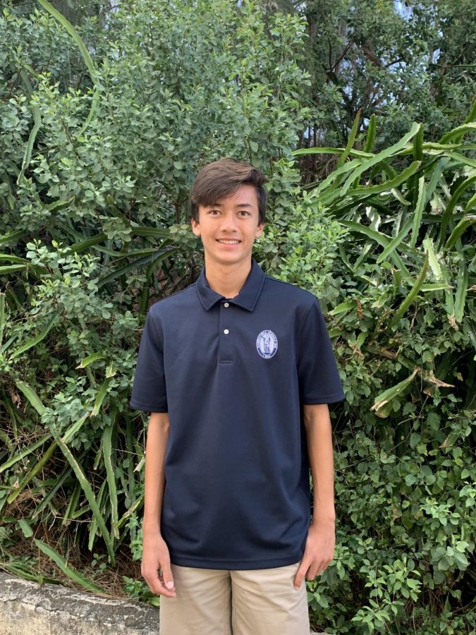 William Ho is a student involved in soccer, cross country, and track who is also an honors and AP course student.