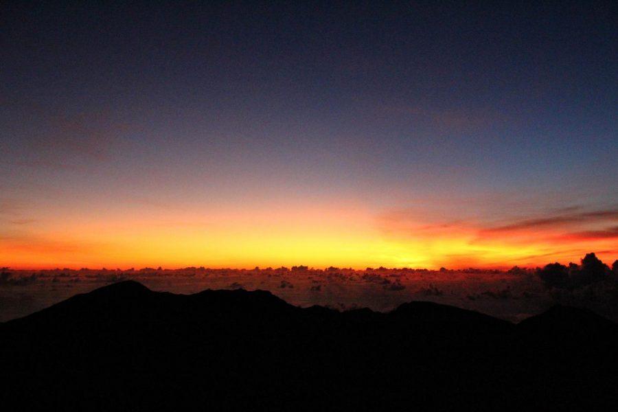The+breathtaking+sunrise+at+Haleakala+on+an+early+October+morning