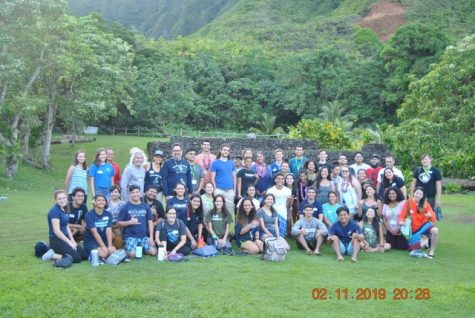 Kamehameha Schools Students had the opportunity to host delegates of SACNAS on the Windward side.