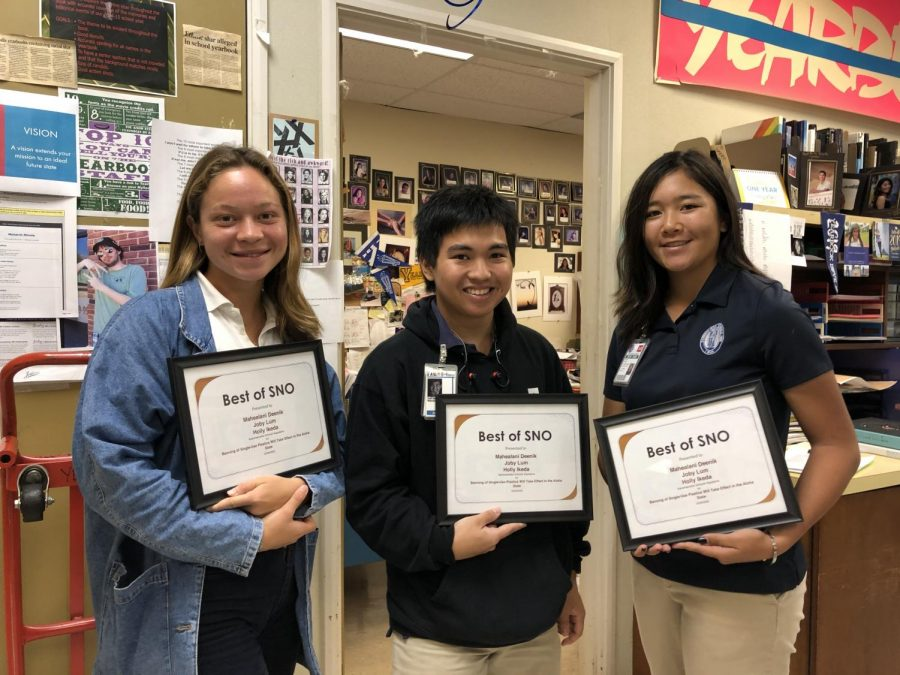 Three Staff Memberʻs Articles Recognized By Best of SNO