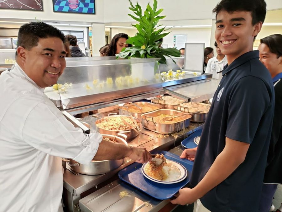 Executive Chef Dean Matsushita is known to be a staff member who actively tries  and makes a positive impact on a personʻs day.