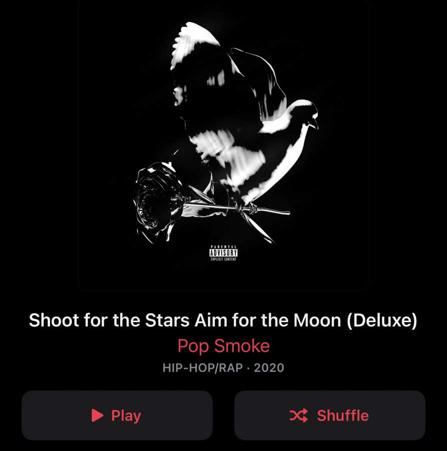 Pop Smokes album 'Shoot for the Stars, Aim for the Moon.