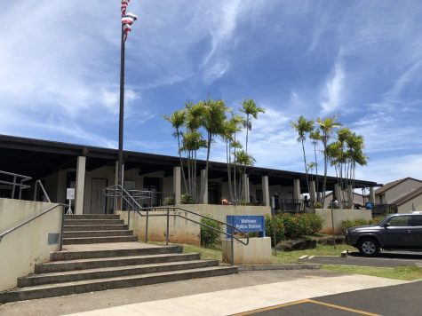 The Wahiawa Police station and Driver