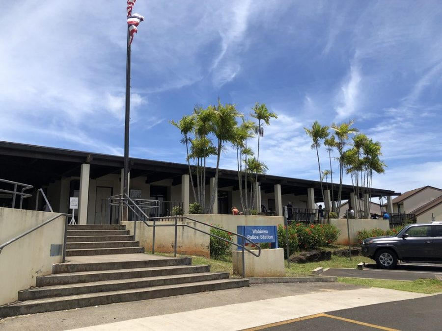 The Wahiawa Police station and Driver's License Department.